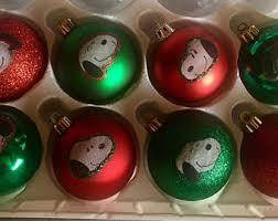 peanuts ornament etsy