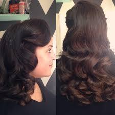 vintage 1940 u0027s waves by lauren franz maurer at mint hair studio in