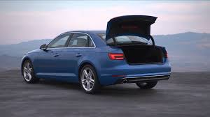 audi a4 2016 2016 audi a4 sedan footage youtube