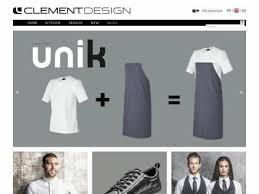 clement cuisine vetement clement design vêtement restauration cuisine