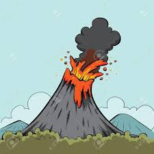 25 trendige volcano cartoon ideen auf pinterest fantasie