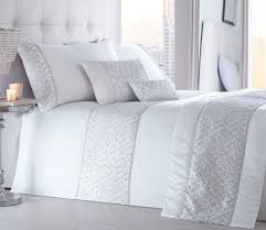 shimmer white quilt duvet cover sets bedding sets luxury quality