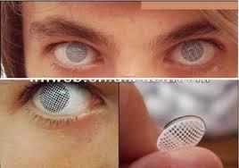 big eye white eyes halloween contact lenses buy japanese contact