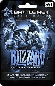battlenet pre paid card 20