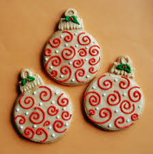 swirl ornament cookies sweet treats