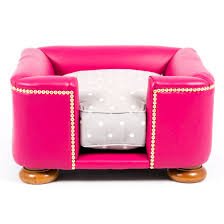 Pink Leather Chair by Best Pink Dog Beds