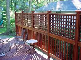 Patio Privacy Ideas Dining Room Elegant Best 25 Privacy Deck Ideas On Pinterest Patio