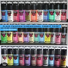plaid fashion dimensional fabric paint select your own mixed
