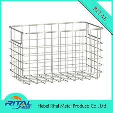 stainless steel kitchen cabinet drawer wire mesh basket buy