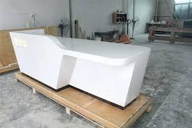 White Salon Reception Desk Desk Gorgeous Reception Desk White Ideas Spa Reception Desk