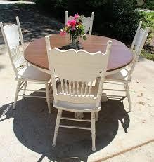WwwfacebookcomAFreshCoatofFabulous Amish Table Update Glazed - Distressed white kitchen table