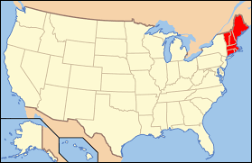 Map Of New England Coast by Download Map Usa New England Major Tourist Attractions Maps