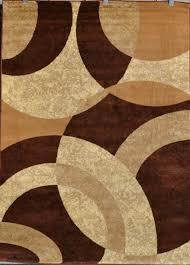 Modern Style Area Rugs Brown Beige Black Modern Geometric Contemporary Area Rug Carpet