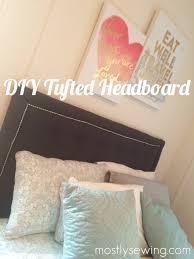 Diy Tufted Headboard Diy Tufted Headboard
