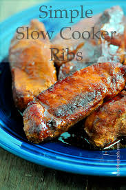 simple slow cooker ribs recipe add a pinch
