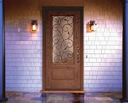 Feather River Exterior Doors Feather River Door Bellante Wrought Iron Entry Door Entry