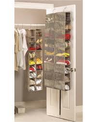 shoe organizer large heavy duty 18 pocket hanging shoe organiser for the wardrobe