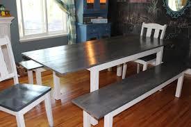 ikea farmhouse table hack how i forced an ikea table to turn into a diy farmhouse table