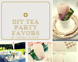 bridal tea party favors adoradiy diy bridal shower tea party favors adora bloom