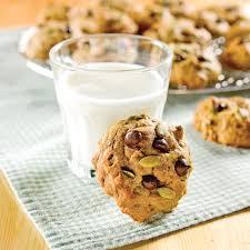 cuisiner citrouille biscuits à la citrouille et pépites de chocolat recettes cuisine