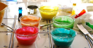 food coloring gel vs non gel baking bites
