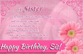happy birthday wishes for sister birthday wishes for sis elder