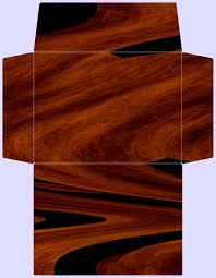 stationary envelope template wood design free printable