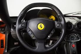 enzo steering wheel one of one insanely rosso dino enzo for sale