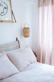 diy linen curtains no sewing required a pair u0026 a spare
