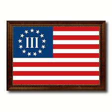 Zavala Flag 3 Percent Betsy Ross Nyberg Battle Iii Revolutionary War Military