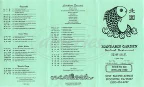 Family Garden Menu - mandarin garden menu stockton dineries