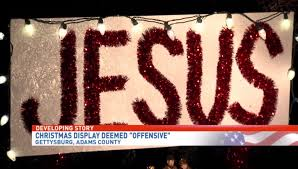 hilarious hoa stories offensive jesus sign in front of home sparks complaint order to