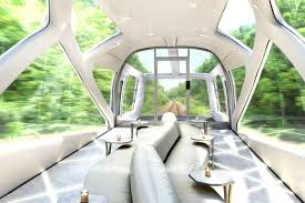 you won u0027t believe the interior of japan u0027s jaw dropping new train