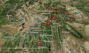 Wyoming Wildfires Map Holy Smokes Fire Update U2013 Planet Jackson Hole
