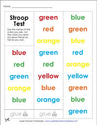 try out the stroop test this brain game challenges you to say the