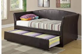 cadez contemporary day bed with trundle