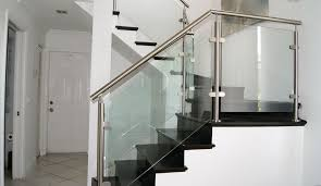 Custom Staircase Design Residential Glass Railing Custom Systems Elegance And