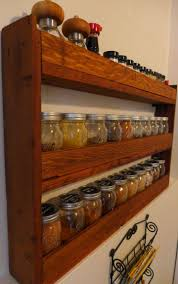 kitchen design astonishing kitchen cabinet spice rack within