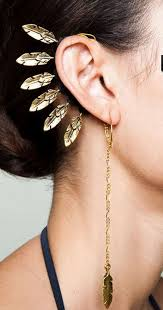 ear cuff jewelry ear cuff earrings worn by more wore earring cuff