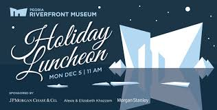 halloween city peoria illinois events holiday luncheon 2016 peoria riverfront museum