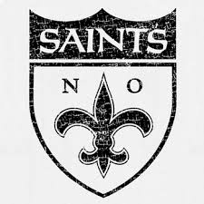 new orleans saints vintage t shirt logo retro throwback tee new