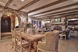 sala da pranzo country hill country shabby chic style sala da pranzo