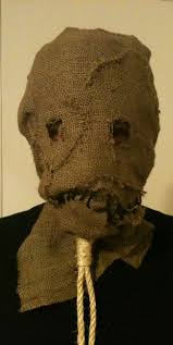 Scarecrow Mask Batman Begins Dark Knight Rises Scarecrow Mask Hand Made