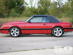 1986 mustang gt convertible 1986 ford mustang lx convertible 5 0 mustang fords magazine