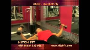 flat bench chest press