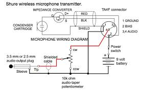 microphone xlr wiring diagram diagram wiring diagrams for diy