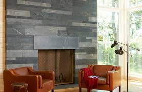 Stone Fireplace Surround Family Room Modern With Neutral Colors - Family room lamps