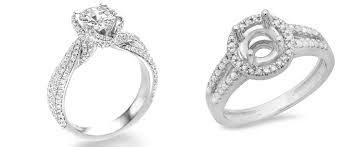 semi mount engagement rings a complete guide to buying semi mount engagement rings dazzling