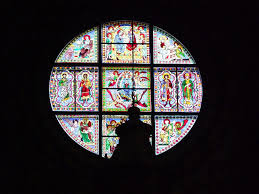 octagon stained glass window the adventures of sonya and john schermann two canadians living