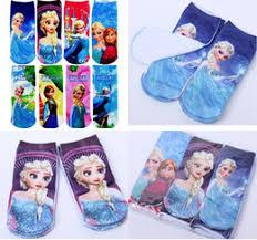 anna elsa cartoon socks girls anna elsa cartoon socks